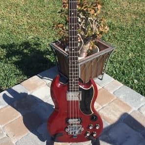 Gibson EB-3 Cherry 1966