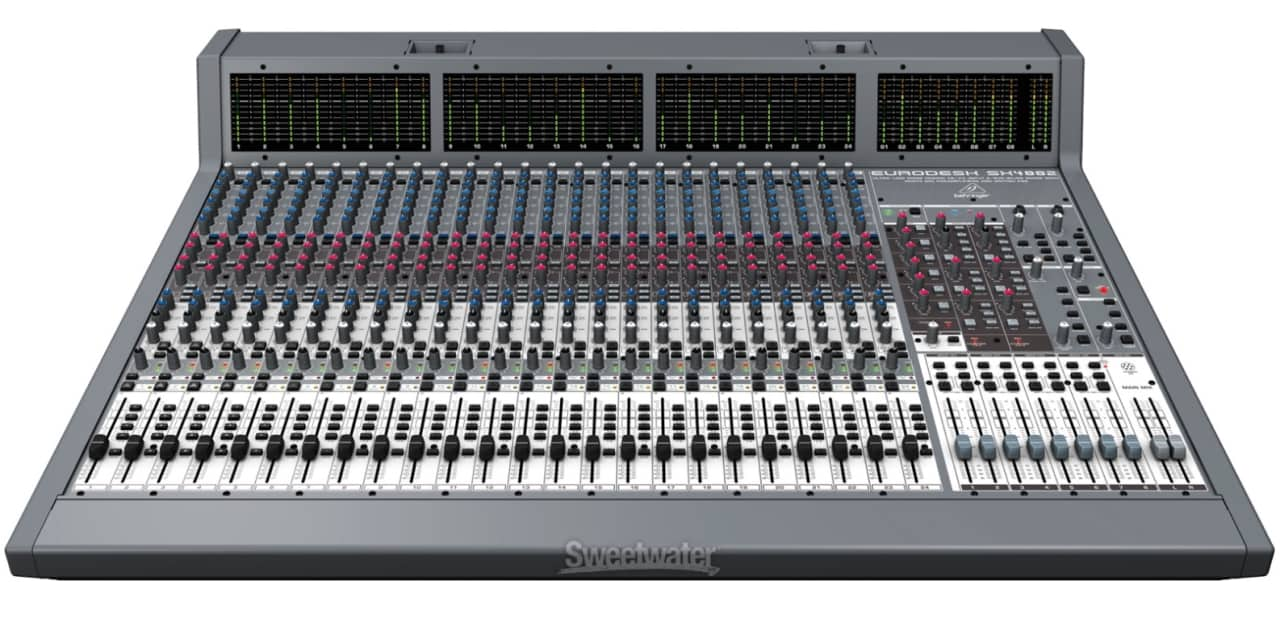 behringer eurodesk sx4882 reverb. Black Bedroom Furniture Sets. Home Design Ideas