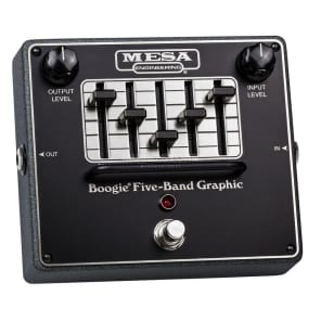 Mesa/Boogie Boogie Five-band Graphic EQ Pedal for sale