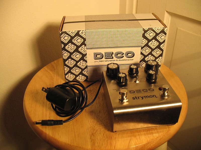 strymon deco tape saturation and double tracker pedal reverb. Black Bedroom Furniture Sets. Home Design Ideas