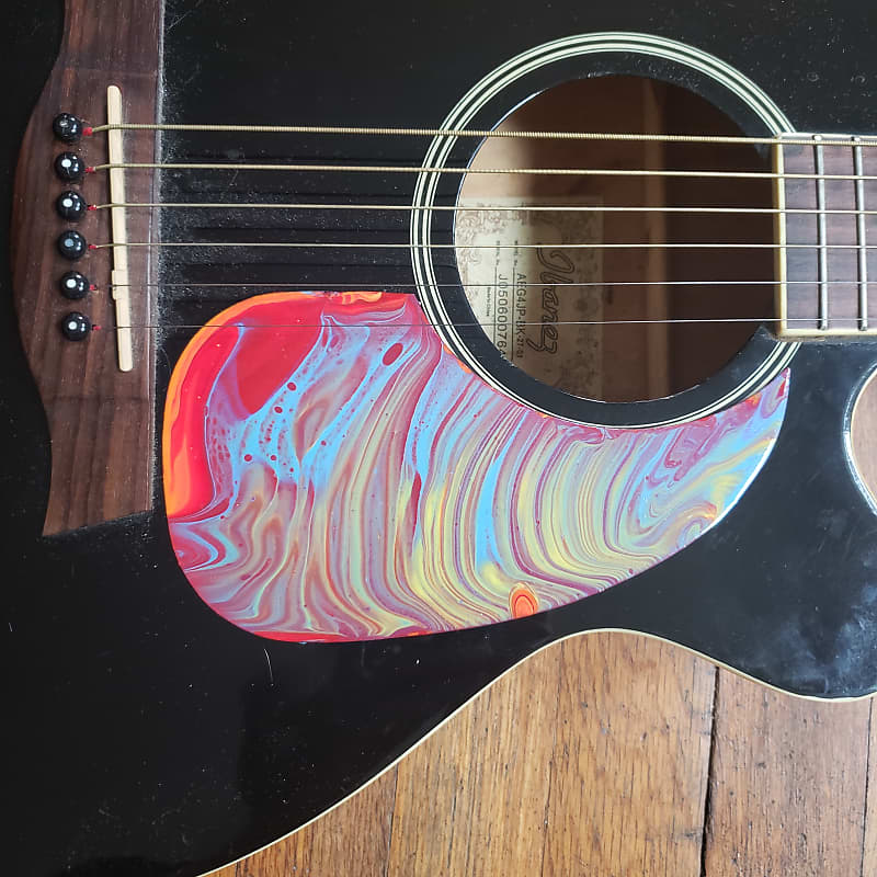 - CUSTOM Acoustic Guitar MOD part Acoustic pickguard Electric Acoustic