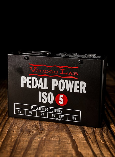 voodoo lab pedal power iso 5 isolated pedal power supply reverb. Black Bedroom Furniture Sets. Home Design Ideas