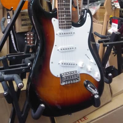 NEW! Baltimore Sunburst Finish Stratocaster Style Electric Guitar - Amazing Value! for sale