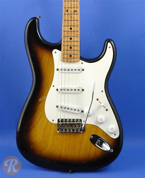 Fender Stratocaster Price >> Fender Stratocaster 1955 Sunburst Price Guide Reverb