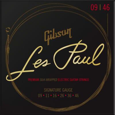 Gibson Les Paul Premium Electric Guitar Strings - Signature Gauge 9-46