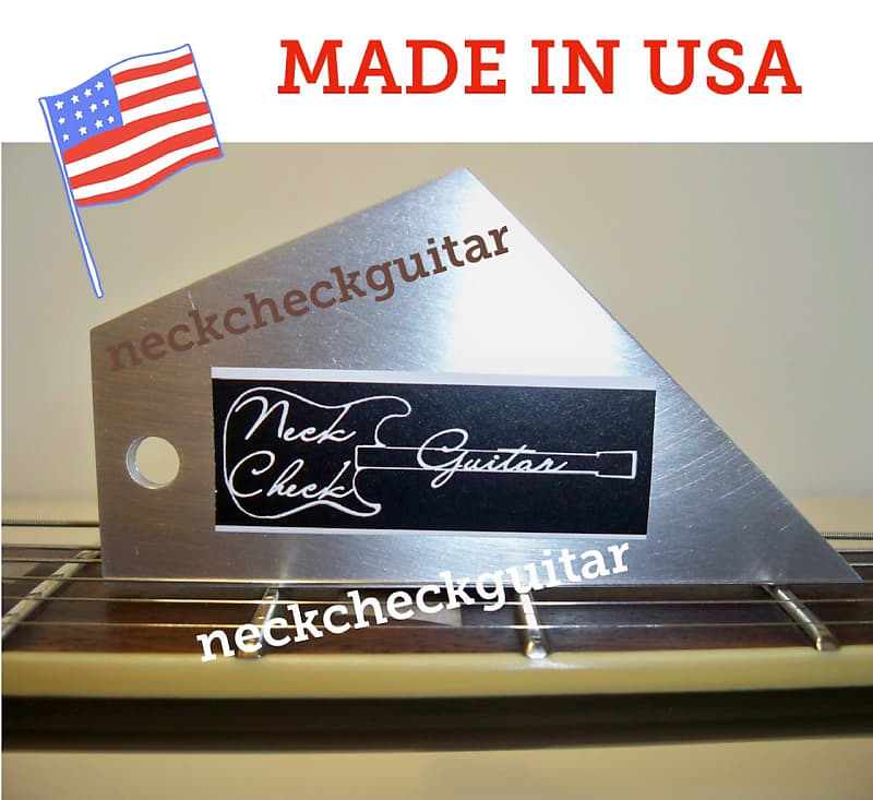 Guitar Notched Straight Edge-For Epiphone /& more.