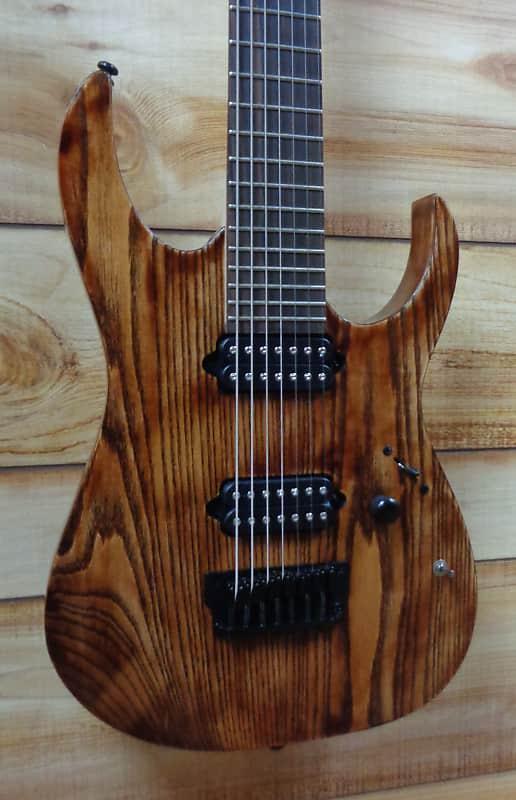 new ibanez iron label rgixl7 7 string electric guitar antique reverb. Black Bedroom Furniture Sets. Home Design Ideas
