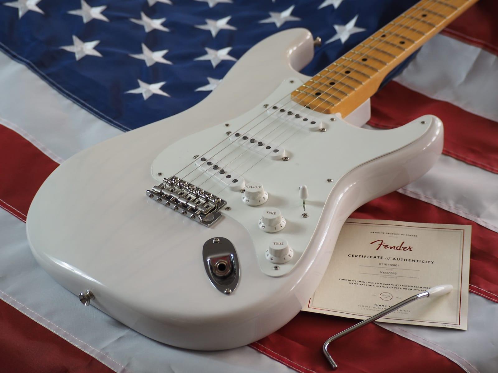 Fender Stratocaster  American Original '50's Stratocaster White Blonde Video Demo