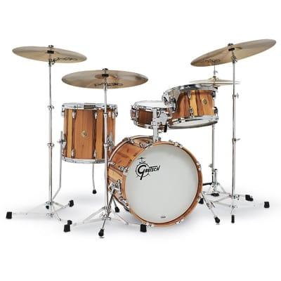 Gretsch USA Custom 4pc Red Gum Limited Edition Jazz Drum Set