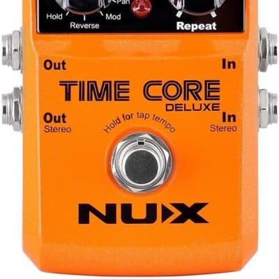 NUX Time Core Deluxe Delay Effects Pedal