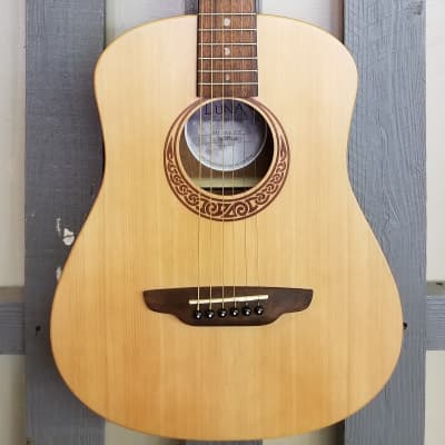 Luna Safari Muse Travel Guitar - Spruce for sale