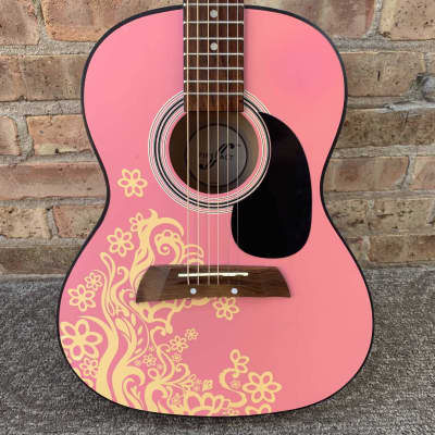 First Act Acoustic Guitar Pink Flower for sale