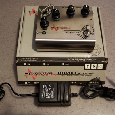 Biyang OTD-100 6AX7 (12AX7) Tube Overdrive / Distotion / Preamp for sale
