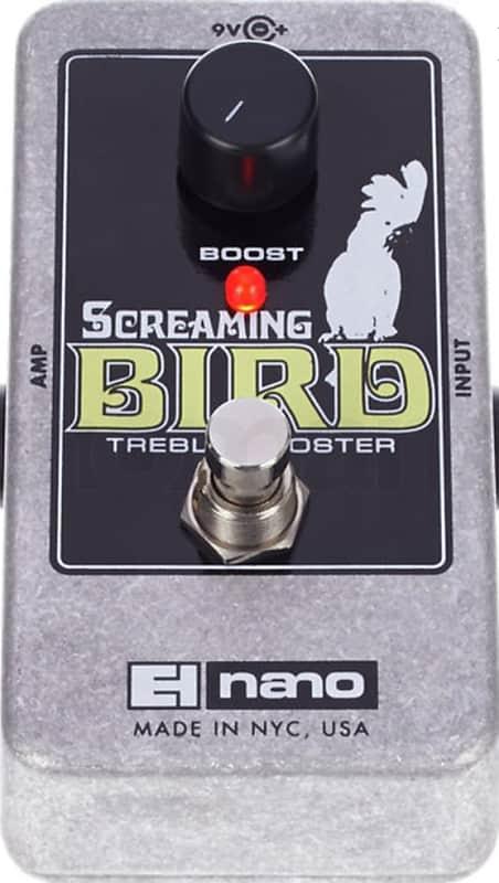 electro harmonix screaming bird treble booster pedal brand reverb. Black Bedroom Furniture Sets. Home Design Ideas