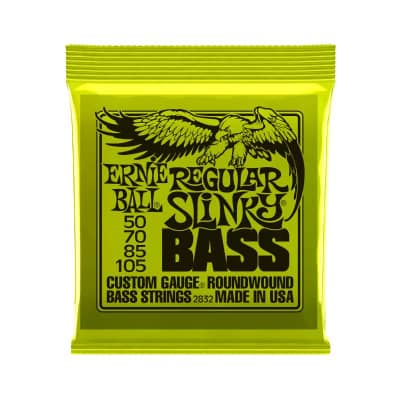 NEW Ernie Ball Regular Slinky Bass - .050 - .105