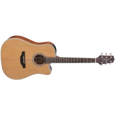 Takamine GD20CE Dreadnought Electro Acoustic, Natural Satin for sale