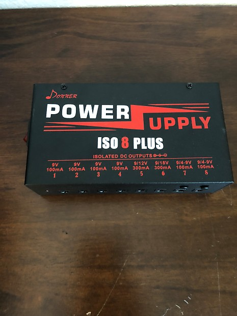Donner DP-4 8 Plus Isolated Power Supply 9/12/18V