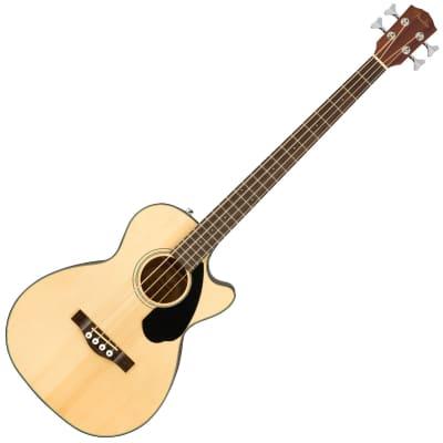 Fender CB-60SCE Ac/El Bass - Laurel, Natural