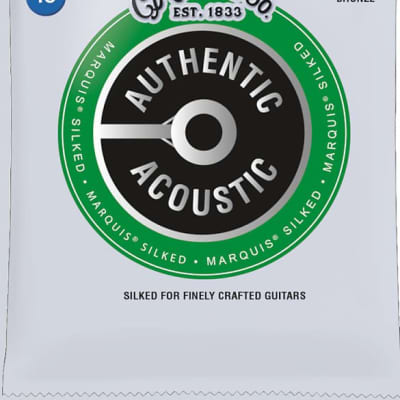 Martin Guitar Strings - Acoustic - Extra Light - Phosphor Bronze Marquis Silked