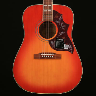 Epiphone EEHBFCNH1 Hummingbird Pro Acoustic Electric, Faded Cherry, Nickel Hardware S/N 19022307194 5 lbs, 1.2 oz for sale