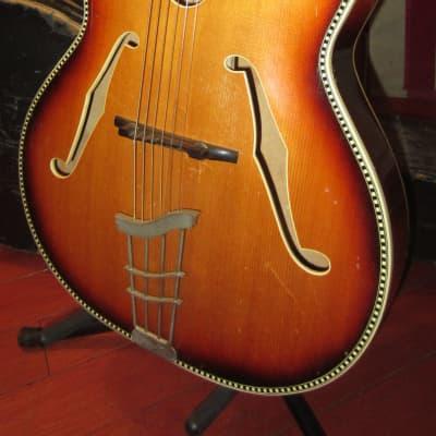 ~1964 Hoyer Herr im Frack Archtop Acoustic Sunburst for sale