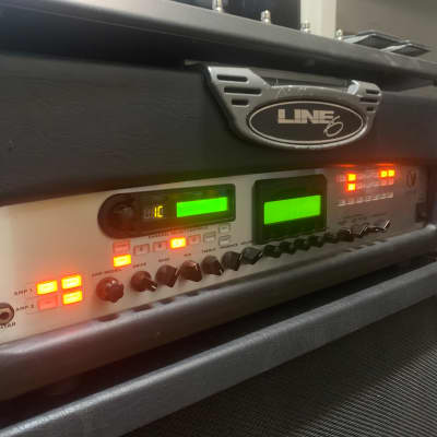 Line 6	Vetta 200-Watt Stereo Digital Modeling Guitar Amp Head