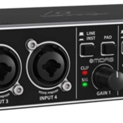 Behringer U-PHORIA UMC404HD 4x4 USB Audio Interface