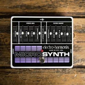 Electro-Harmonix Microsynth Analog Guitar Synthesizer Pedal