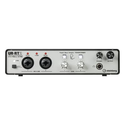 Steinberg UR-RT2 2-Channel USB Audio Interface with Rupert Neve Transformers
