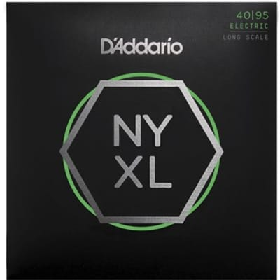 D'Addario NYXL4095 Super Light Long Scale Bass Strings .040-.095