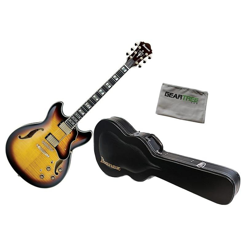 ibanez as153 ays artstar semi hollow electric guitar bundle reverb. Black Bedroom Furniture Sets. Home Design Ideas