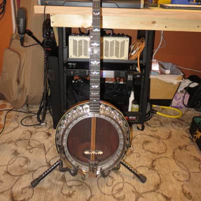 Ode Model 42 Grade  5 Aluminum Rim 5 String Banjo 1964-65 Carved Heel, Engraved Hardware, Beautiful! for sale