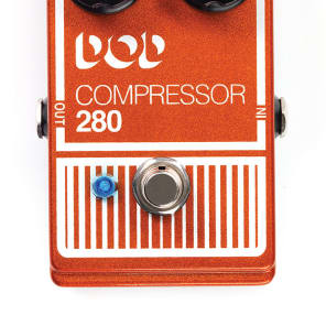 New DOD 280 Compressor Electric Guitar Effects Pedal for sale
