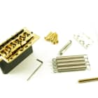 Wilkinson  6 HOLE TREMOLO STEEL sustain BLOCK GOLD fits Fender and more WVCSBGD image