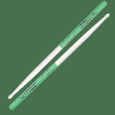 Zildjian Z5AMDG 5A Maple Green DIP (Pair) Drum Sticks