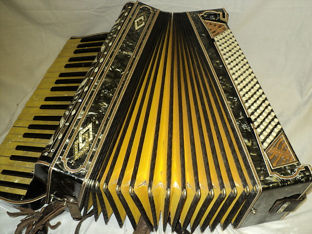 Vintage Enrico Bertini Special Model Accordion 41 120 Reverb