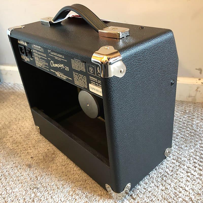 fender champion 20 20w 1x8 guitar combo amplifier like reverb. Black Bedroom Furniture Sets. Home Design Ideas