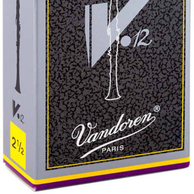 Various Strengths Vandoren V12 Bb Clarinet Reeds Box of 10