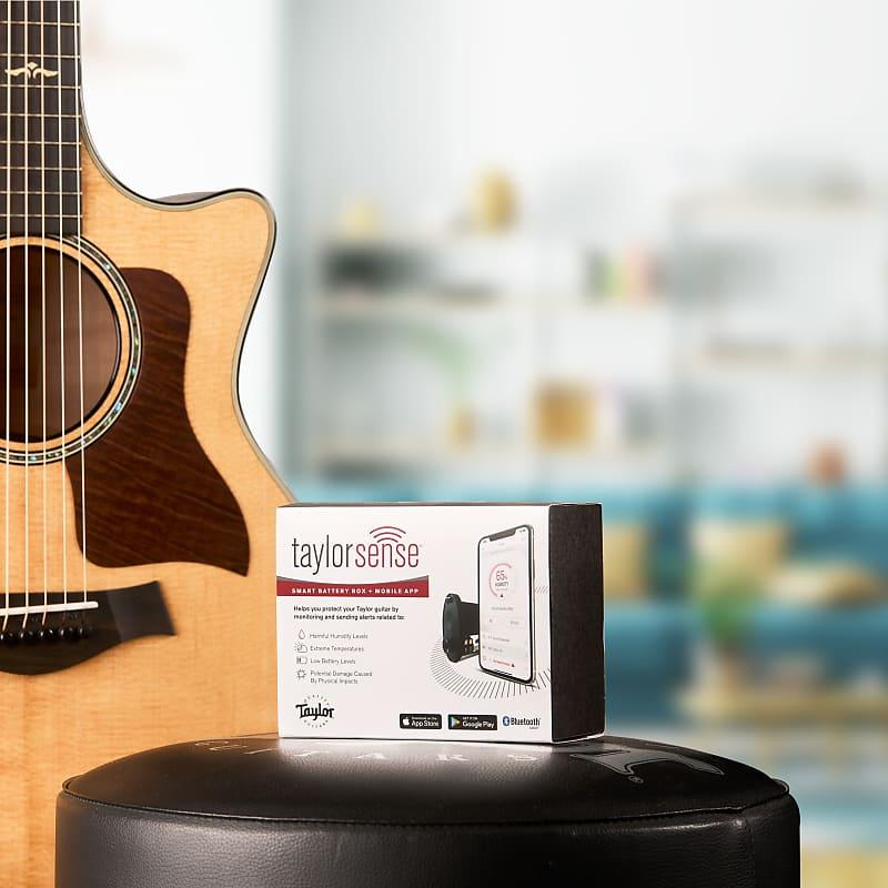 TaylorSense Guitar Health Monitoring System Battery Box + Mobile App