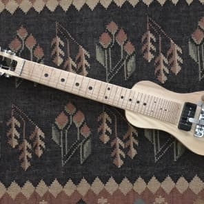 SX Lap Steel with additional palm levers for sale