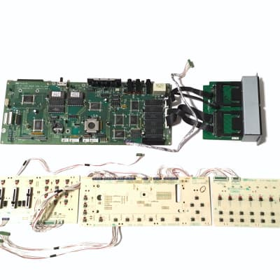 Roland TR-707 parts - LCD assembly   Reverb