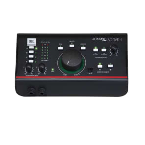 JBL M-Patch Active-1 Active Stereo Monitor Controller w/ Talkback and USB I/O