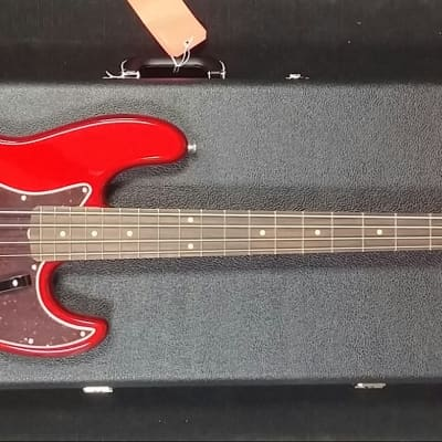 FENDER American Original 60s Jazz Bass Rosewood Fingerboard Candy Apple Red 0190130809 for sale