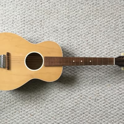 Vintage Oahu Prince Parlor-size Acoustic Guitar (Jackson Guldan Adjustomatic) for sale