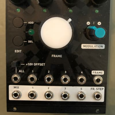 Mutable Instruments Frames  Black Magpie Face Eurorack  - AWESOME