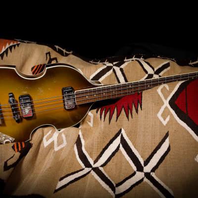 """1964 Hofner 500/1 Beatle Bass """"Sunburst"""""""