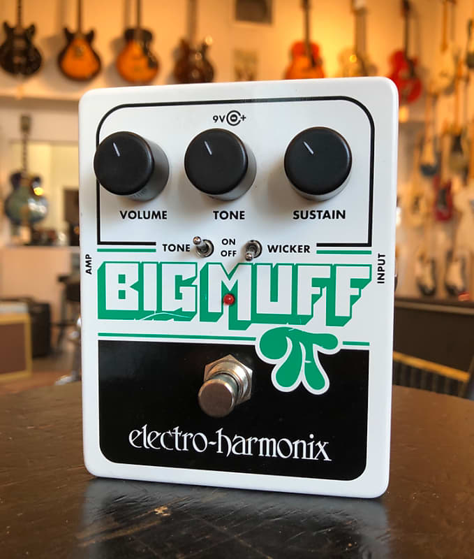 electro harmonix ehx big muff pi fuzz guitar effect pedal reverb. Black Bedroom Furniture Sets. Home Design Ideas