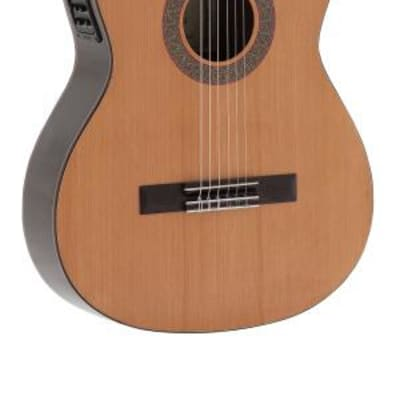 Admira Virtuoso cutaway electrified classical guitar with solid cedar top, Electrified series Acoustic Guitar VIRTUOSO-ECF for sale