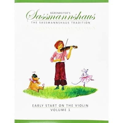 Bärenreiter's The Sassmannshaus Tradition: Early Start on the Violin - Volume 1