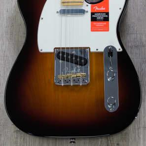 Fender American Professional Telecaster Guitar, 3-Color Sunburst, Maple Board - 0113062700